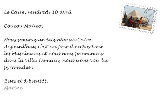 Cartes postales mystérieuses - Nos histoires - Voyages en Français